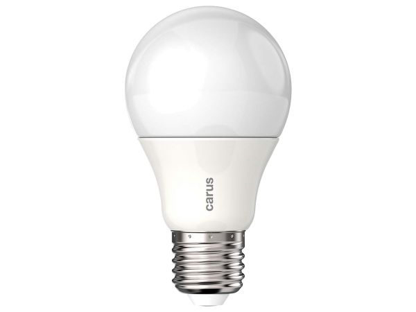 "carus LED-Lampe ""Tageslicht"" 8,6 W, E27, 600 lm, dimmbar"