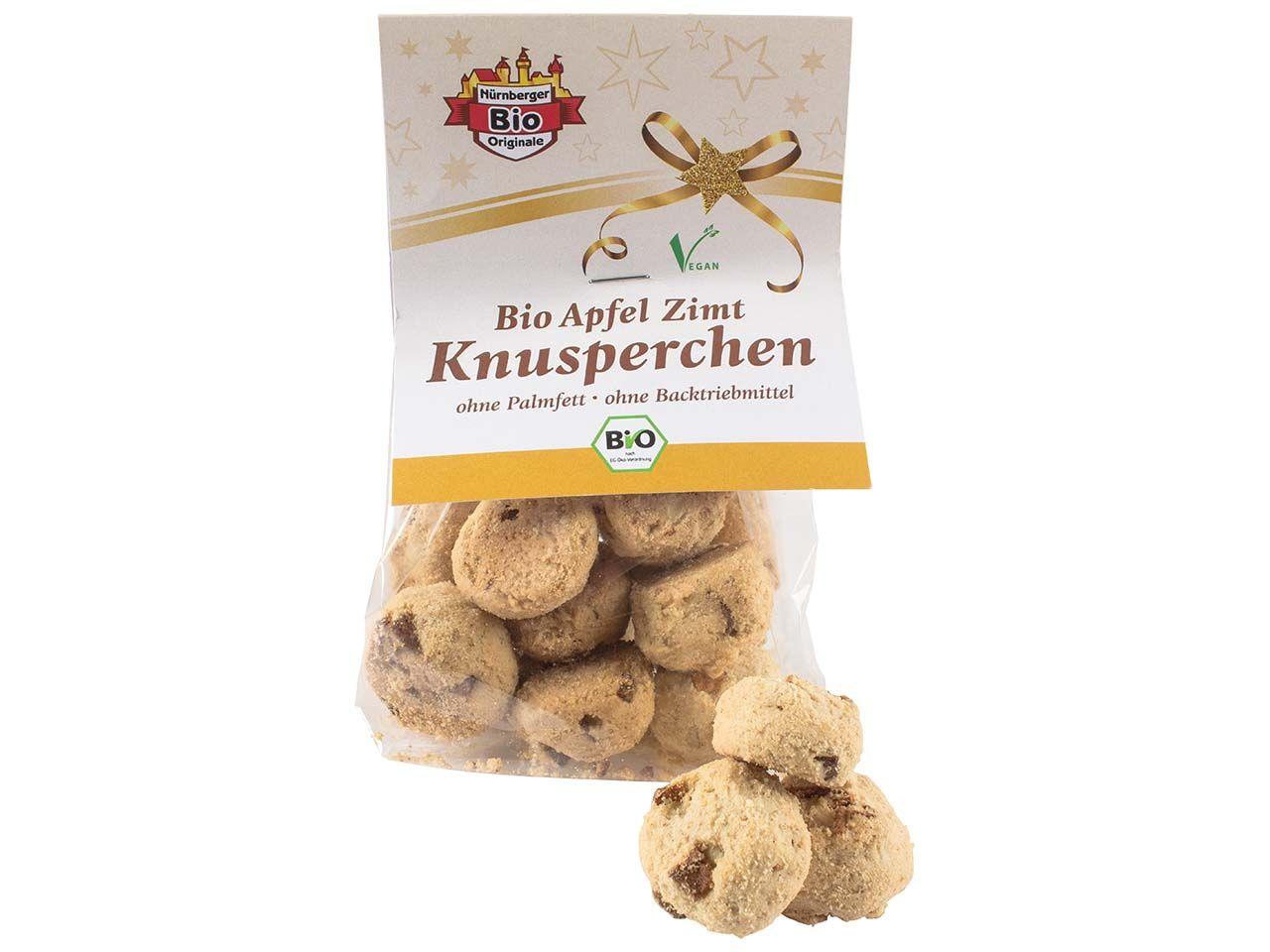 Bio-Apfel-Zimt-Knusperchen, 100 g 2075