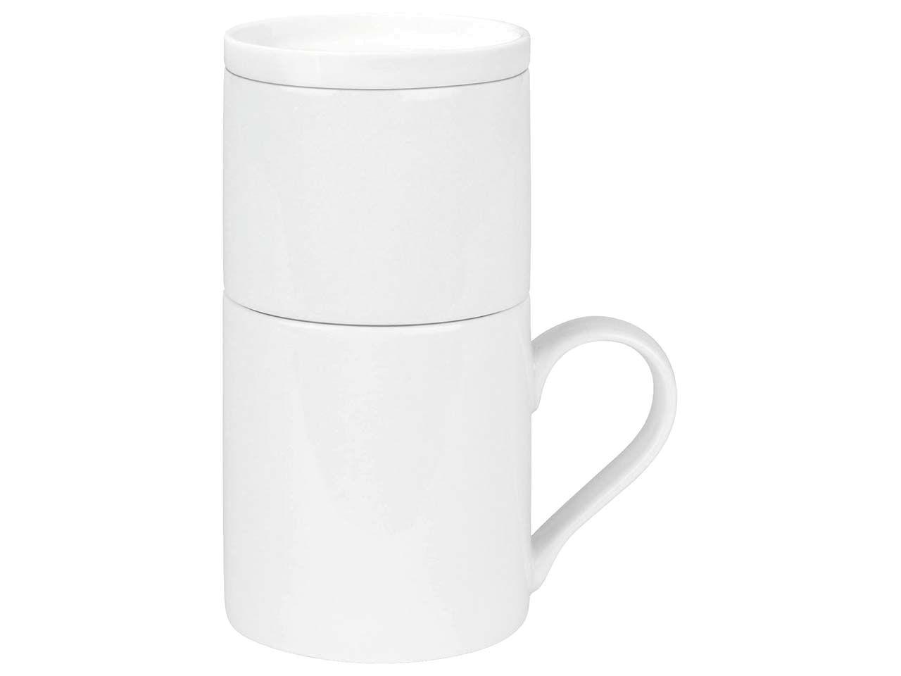 """Könitz Kaffeeset """"Coffee for One"""" weiß 11 5 618 0000"""