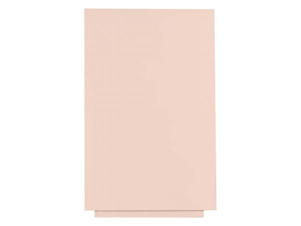 "Rocada Whiteboard ""SkinColor"" 75 x 115 cm, pink"