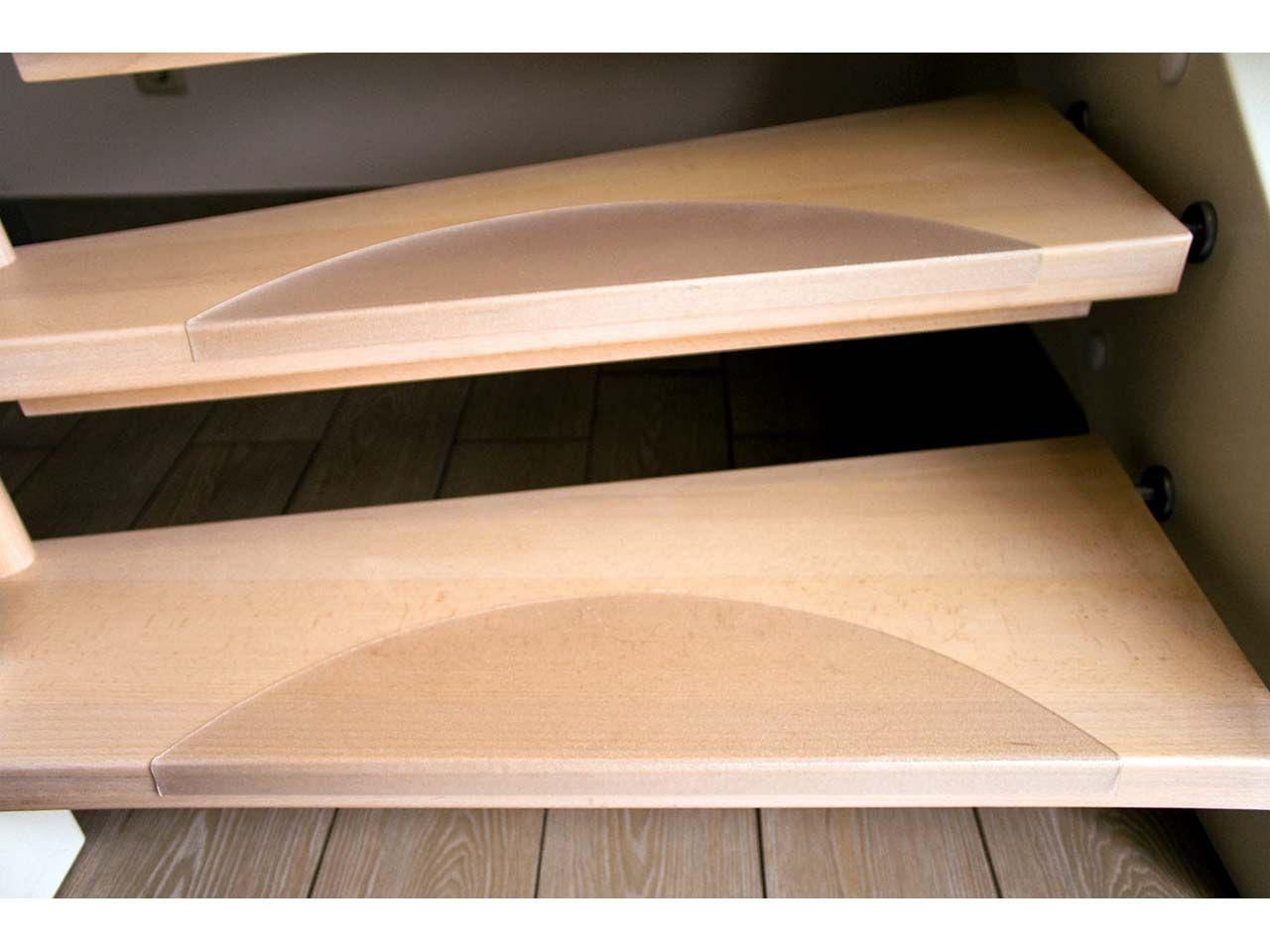 Treppenstufenmatte Halbkreis Trittfläche 56 x 14,5 cm Treppe -5617