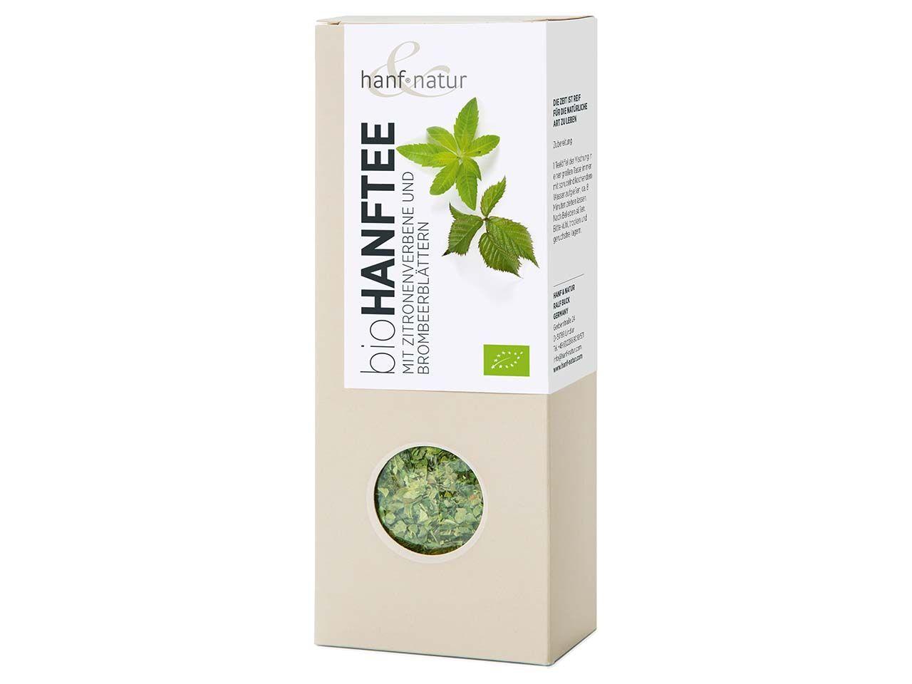 Hanf Natur Bio-Hanf-Teemischung mit Zitronenverbene, 40 g 0-1034