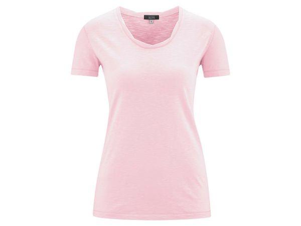 """Living Crafts Bio-Damen-T-Shirt """"Alexandra"""" rose, Gr. L"""