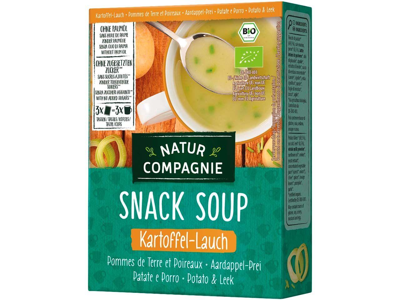 Natur Compagnie Bio-Kartoffel-Lauchcremesuppe
