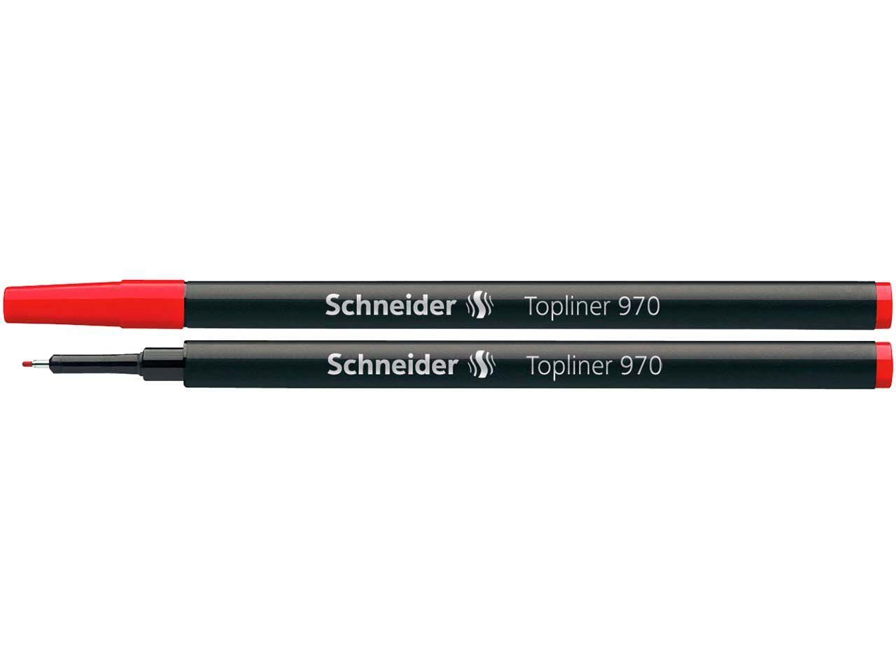 Schneider Mine für Topliner 911 rot 50-9702