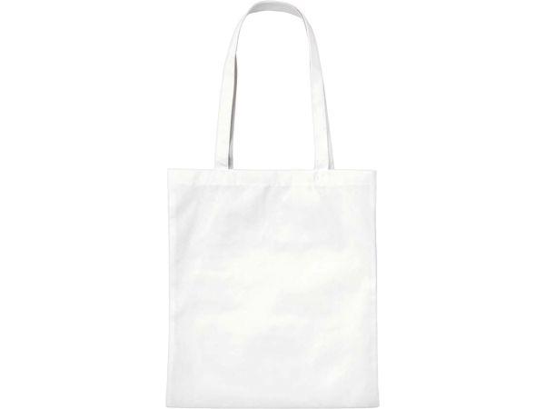 PP-Taschen, weiß 38x42 cm mit zwei langen Henkeln