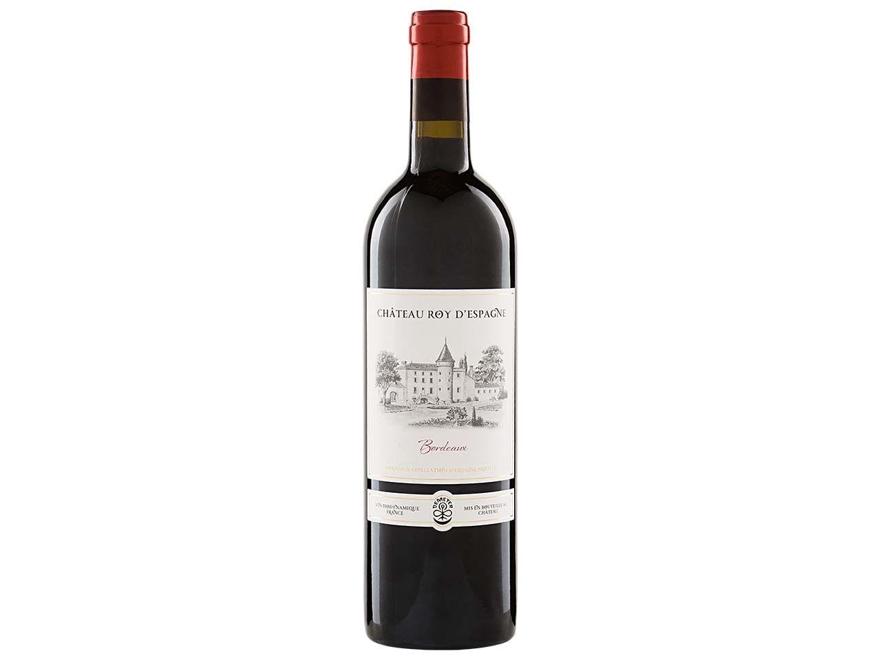 Bio-Rotwein Château Roy d'Espagne Bordeaux AOP, 0,75 l 16600