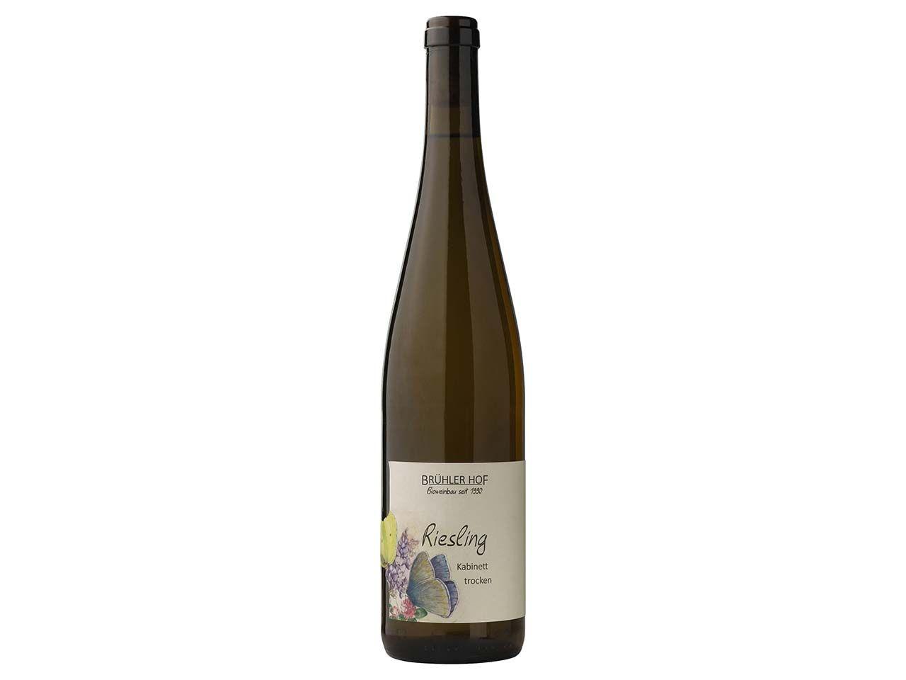 Brühler Hof Bio-Weißwein Riesling, Kabinett, 0,75 l 1-19