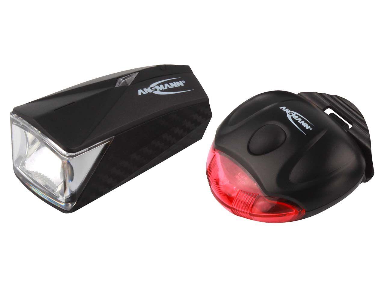 Ansmann Fahrradlampenset