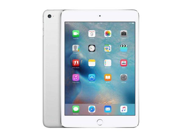 """Apple iPad """"Mini 4"""", Modell 2015, 128 GB, silber, generalüberholt"""