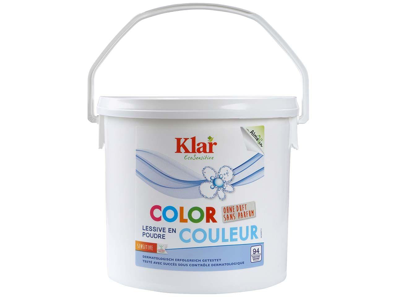 "Klar Basis Compact Color Waschmittel ""EcoSensitive"" pulver 4,750 kg 6626007"
