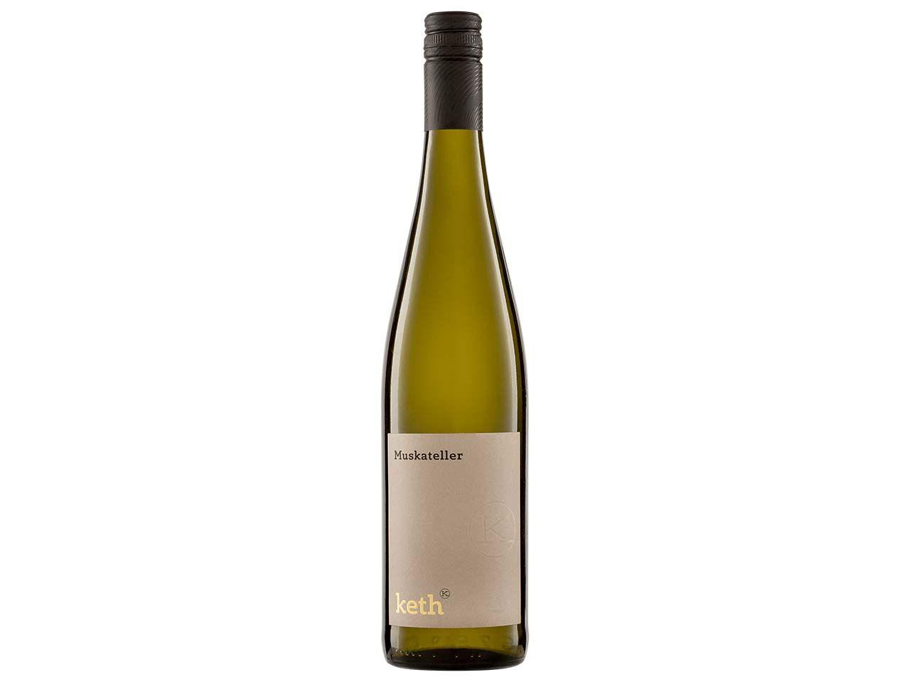 Bio-Weißwein Muskateller, Keth, 0,75 l 57017