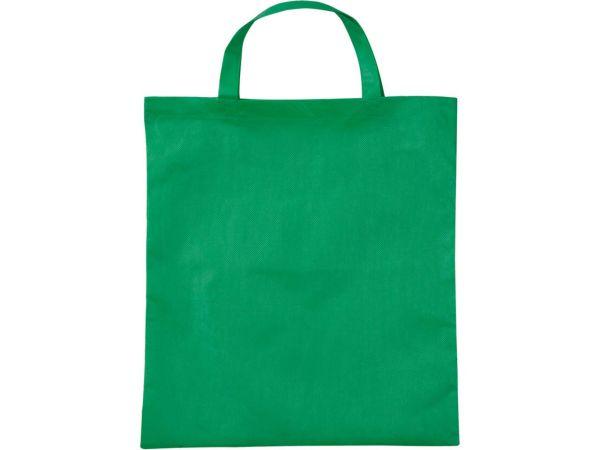 PP-Taschen, dunkelgrün38x42 cm mit zwei kurzen Henkeln