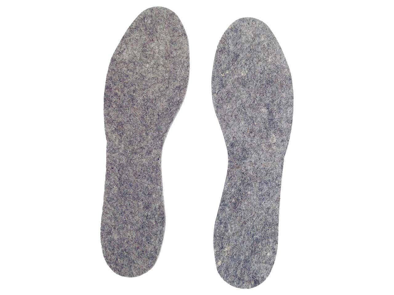 Schuheinlagen aus Wollfilz, Gr. 46-47 6200110