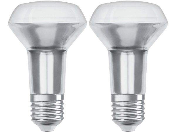 "2er-Pack OSRAM LED-Lampe ""Superstar Filament"" R63, 4,3 W, E27"