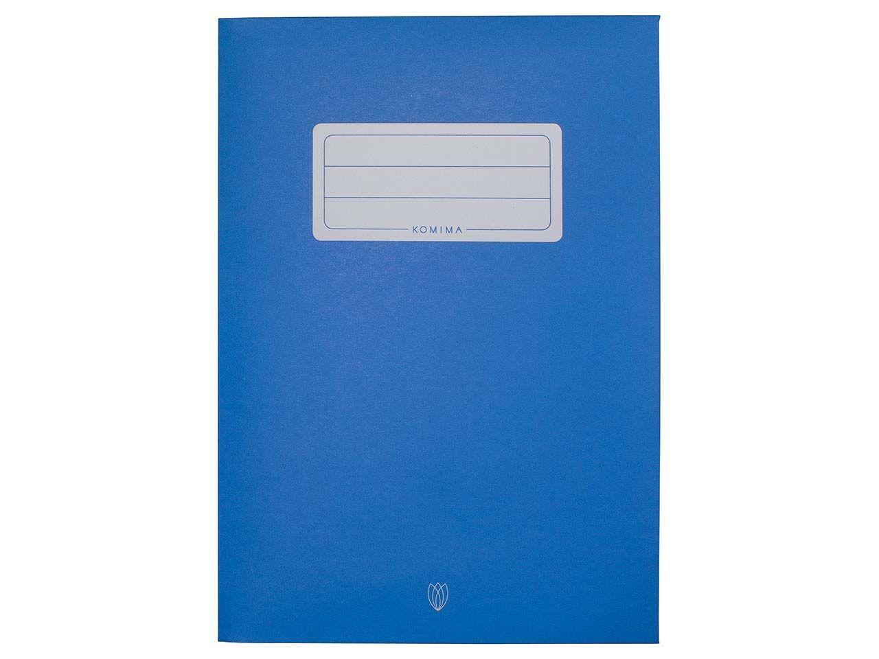 Komima Heftumschlag aus Recyclingpapier, dunkelblau DIN A5 DIN A5 dunkelblau