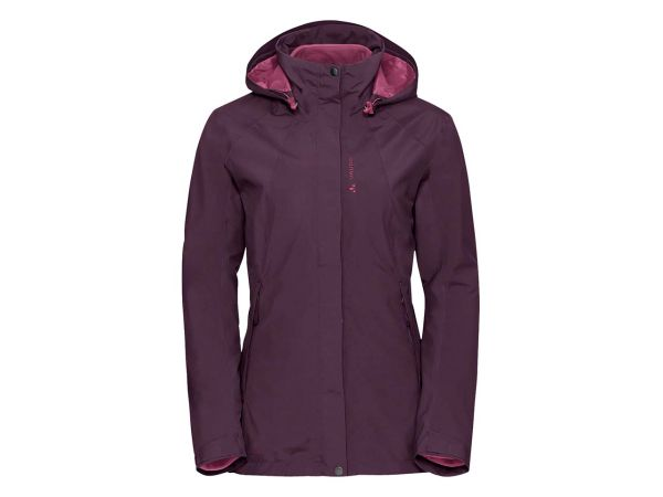 "VAUDE Damen-Funktionsjacke ""Kintail 3 in 1 Jacket IV"" fuchsia, Gr. 46"