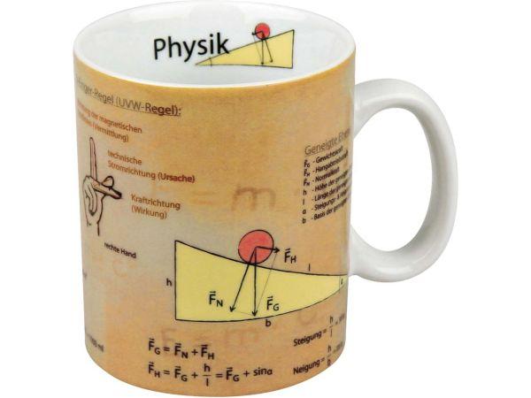"""Könitz Tasse """"Wissensbecher Physik"""""""