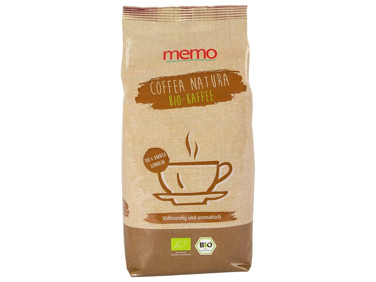 memo Bio-Kaffee