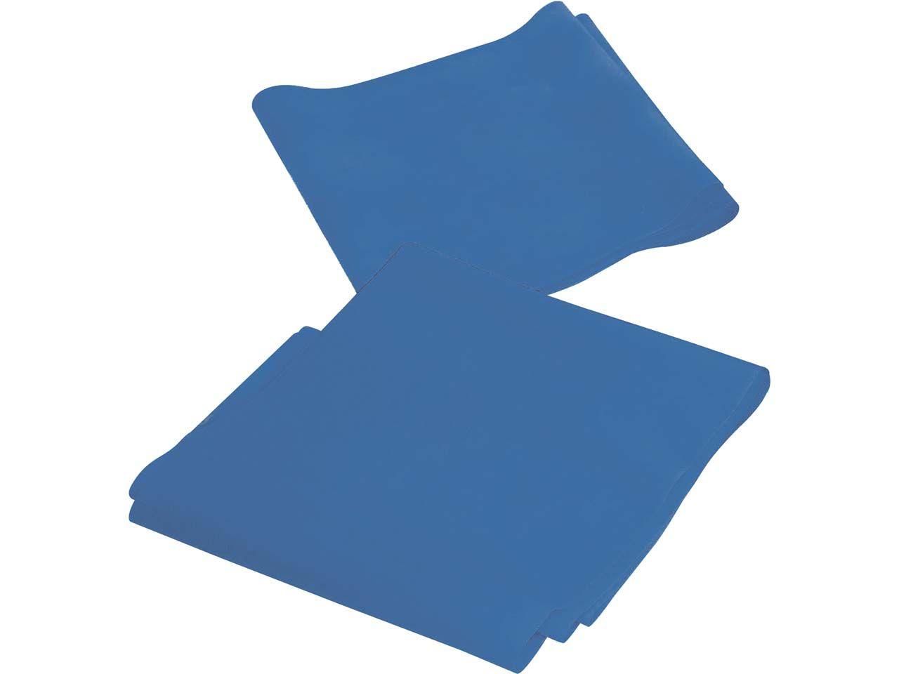 """Fitnessband """"Fortgeschrittene"""", blau, 150 x 15 cm, mit Übungsanleitung"""