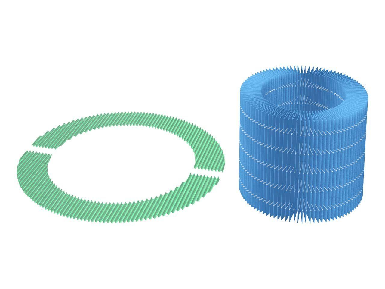 Balmuda Filtersatz für Luftbefeuchter