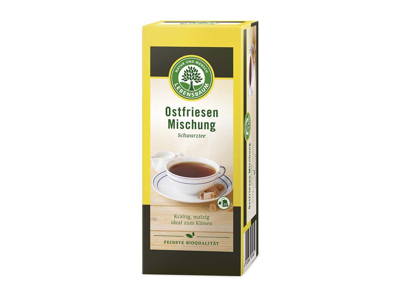 Lebensbaum Schwarzer Bio-Tee Ostfriesenmischung 20 x 1,75 g 5110