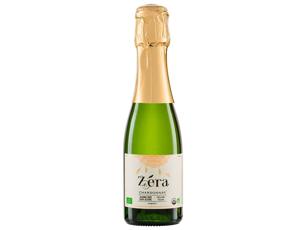 "Bio-Aperitif ""Zera"" Chardonnay Effervescent Alkoholfrei, 0,2 l"