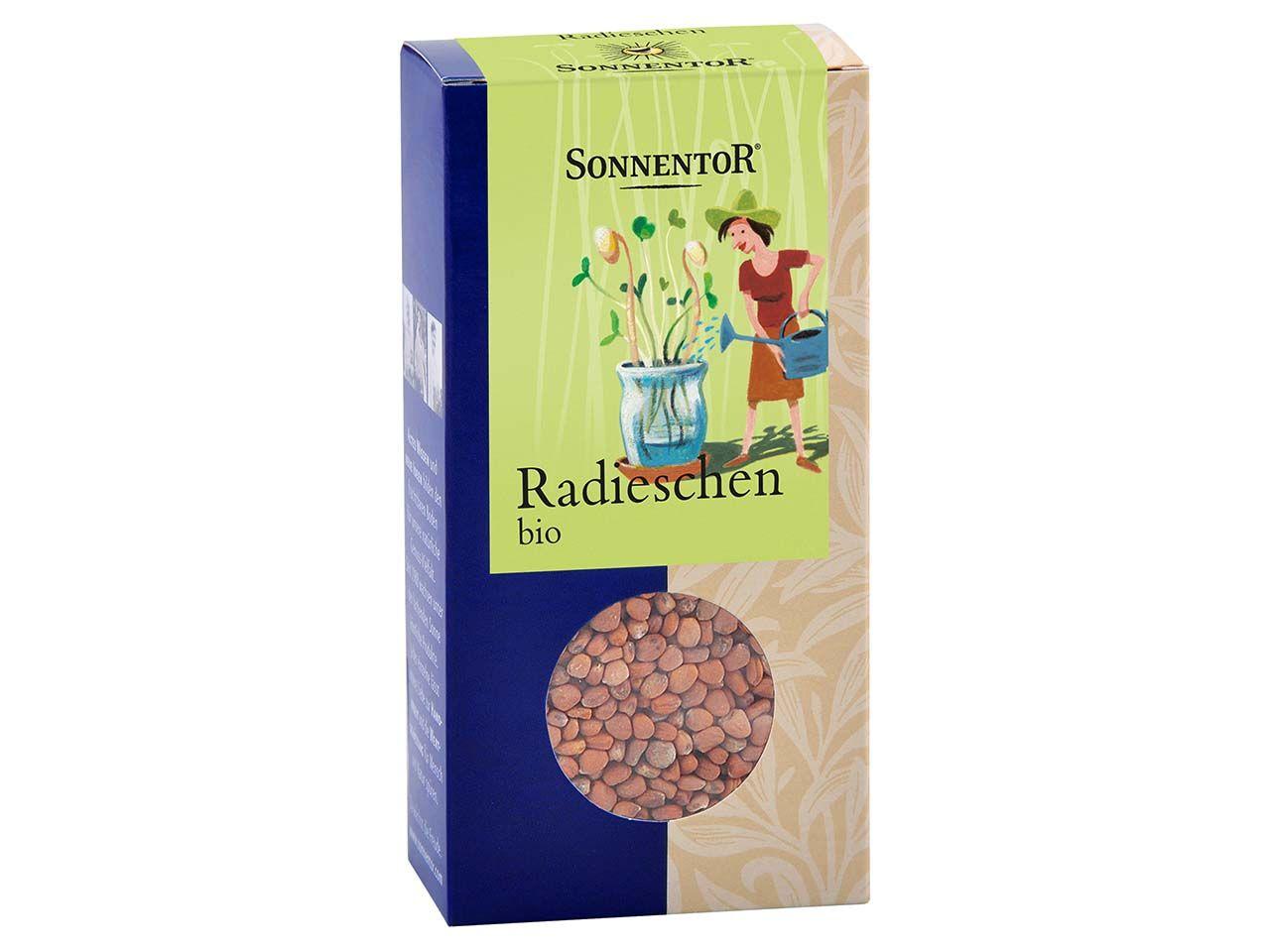 """Sonnentor Bio-Keimsaaten """"Radieschen"""", 120 g 00110"""