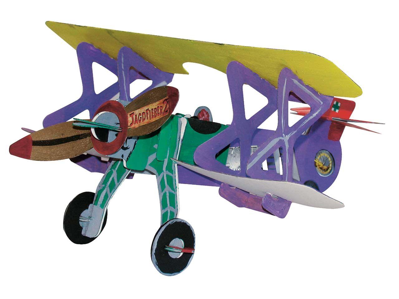 JoyPac Flugzeug Doppeldecker