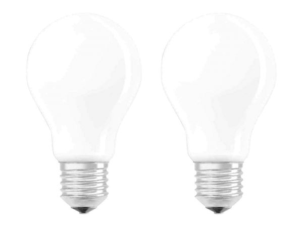 "2er-Pack OSRAM LED-Lampe ""Superstar Filament"" CLA60, 7W, E27, 806 lm, neutralweiß 4.000K,"