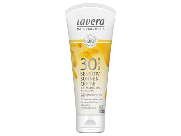 "lavera ""Sensitiv"" Sonnencreme LSF 30, 100 ml"