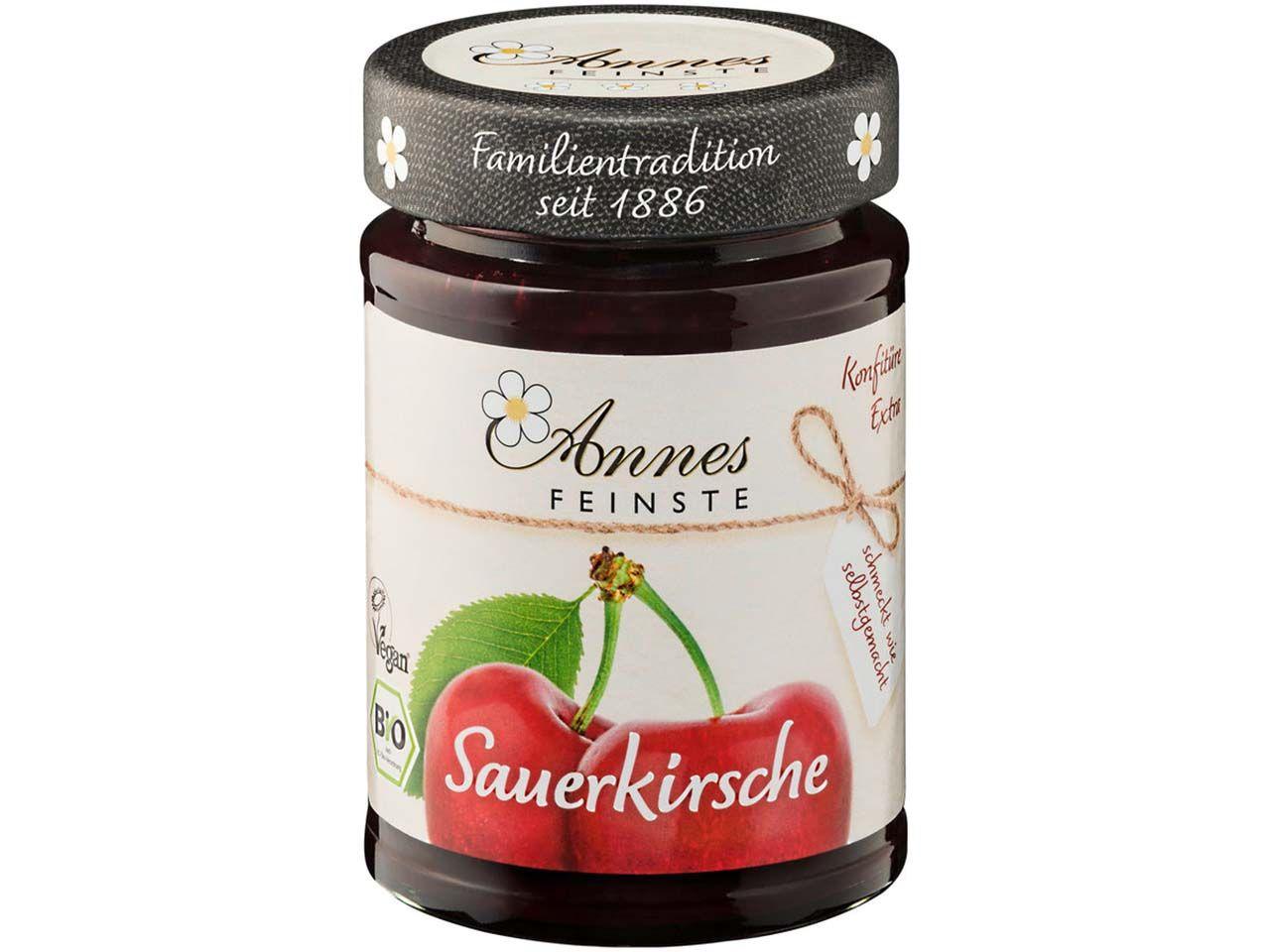 """Annes Feinste Bio-Konfitüre """"Sauerkirsche"""" 225 g 230003124"""