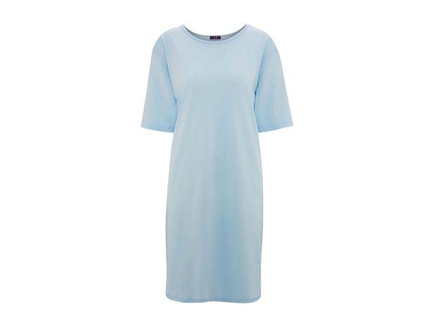 """Living Crafts Bio-Damen-Nachthemd """"Berit"""" bleu, Gr. S"""
