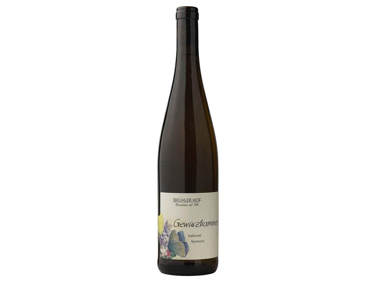 Brühler Hof Bio-Weißwein Gewürztraminer, Kabinett, 0,75 l 2-20