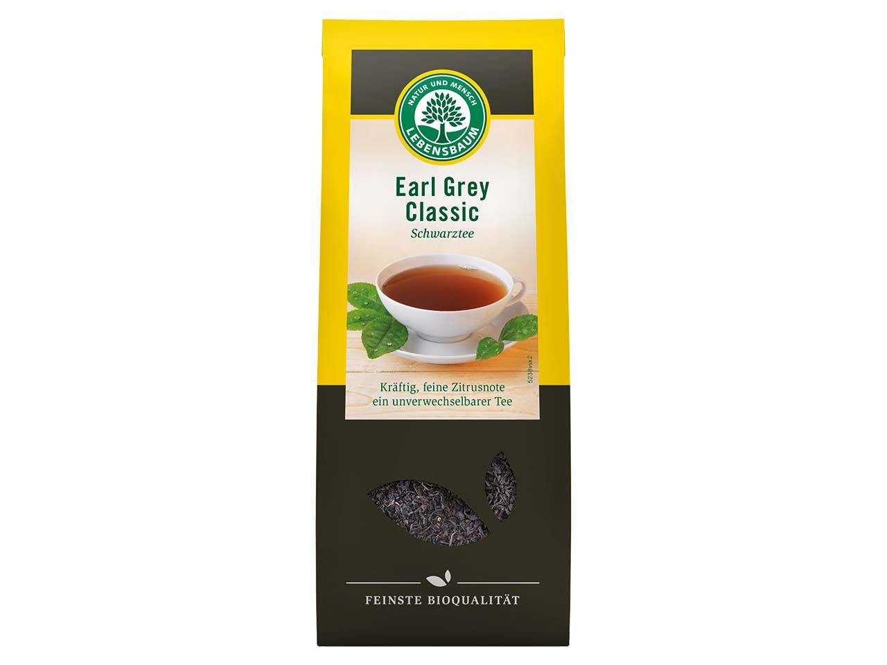 "Lebensbaum Schwarzer Bio-Tee ""Earl Grey Classic"", 100 g 5238"