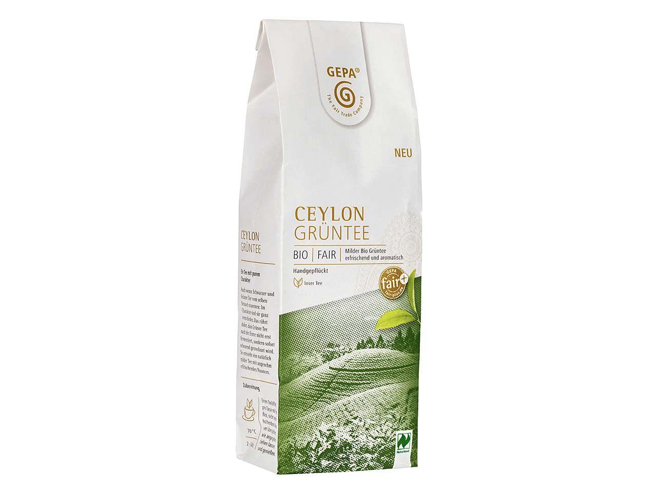 GEPA Grüner Bio-Tee Ceylon, 100g 8880929