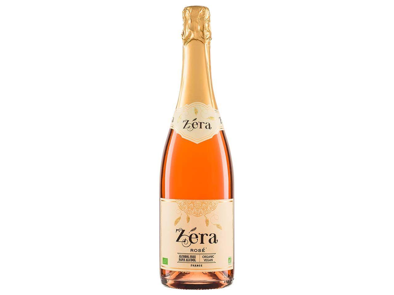 """Alkoholfreier Bio-Aperitif """"ZERA Effervescent Rosé"""", 0,75 l 73130"""