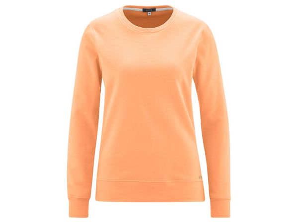 """Living Crafts Bio-Damen-Sweatshirt """"Gwyneth"""" mandarin, Gr. S"""