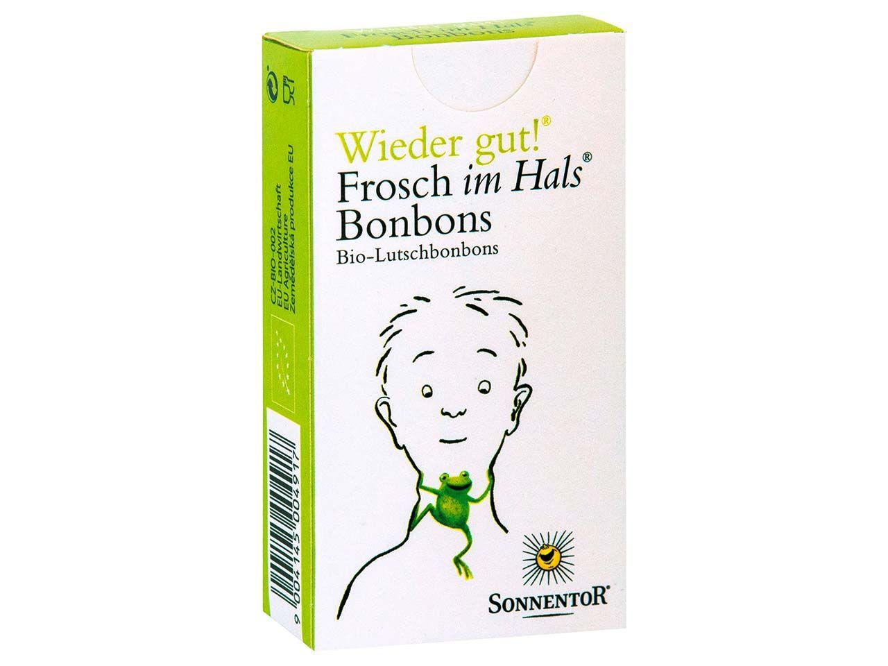 """Sonnentor Bio-Bonbons """"Frosch im Hals"""", 50 g 00491"""