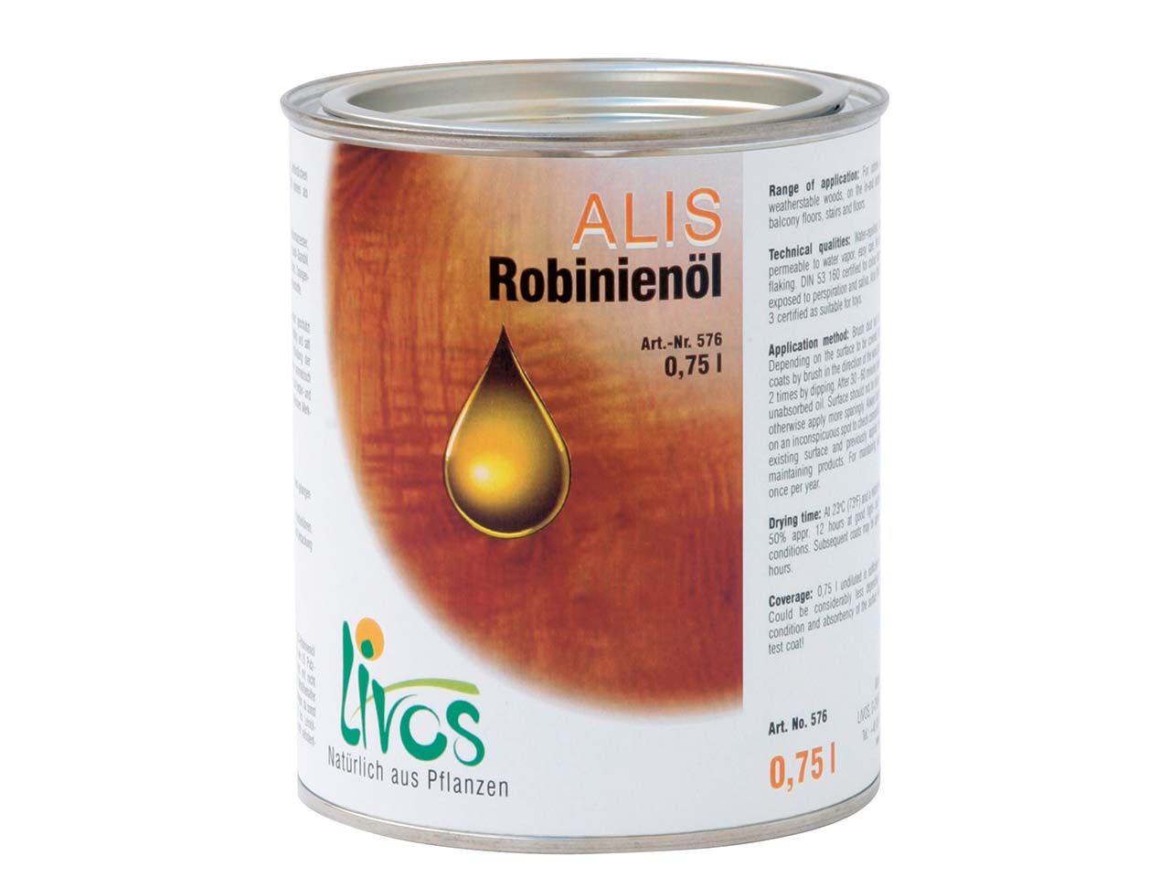 Livos Alis Robinienöl 0,75 l 576-0,75