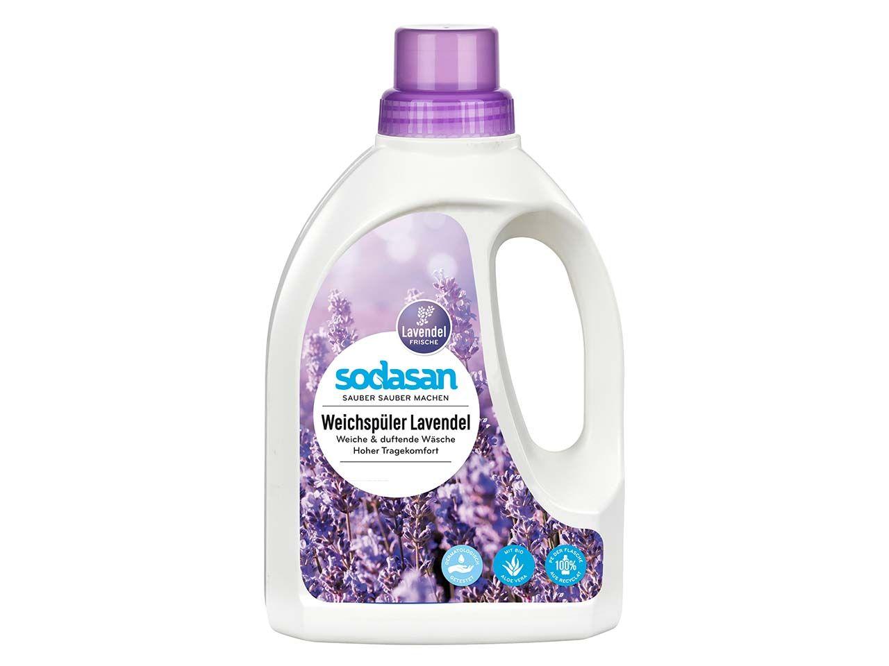 Sodasan Weichspüler Lavendel 0,75 l 1613