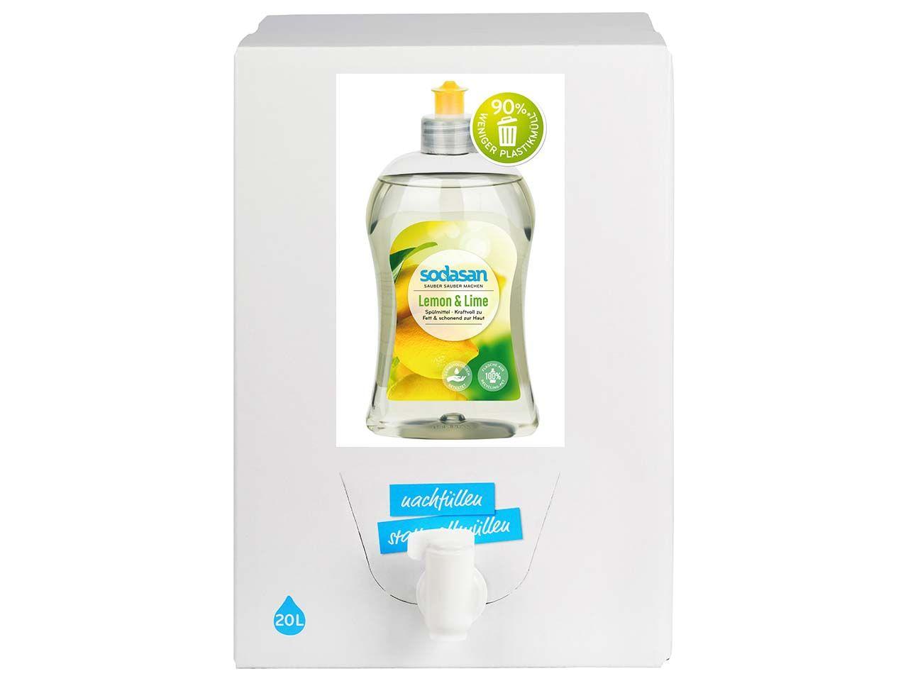 "Sodasan Spülmittel ""Lemon & Lime"" Bag in Box, 20 l 218"