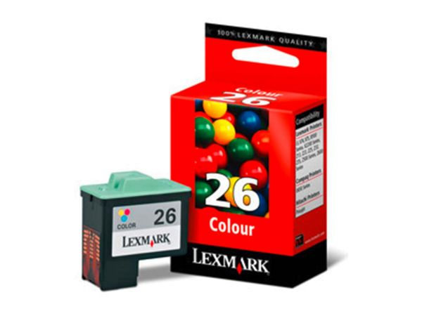 Lexmark Druckkopf 10N0026E Nr. 26 color
