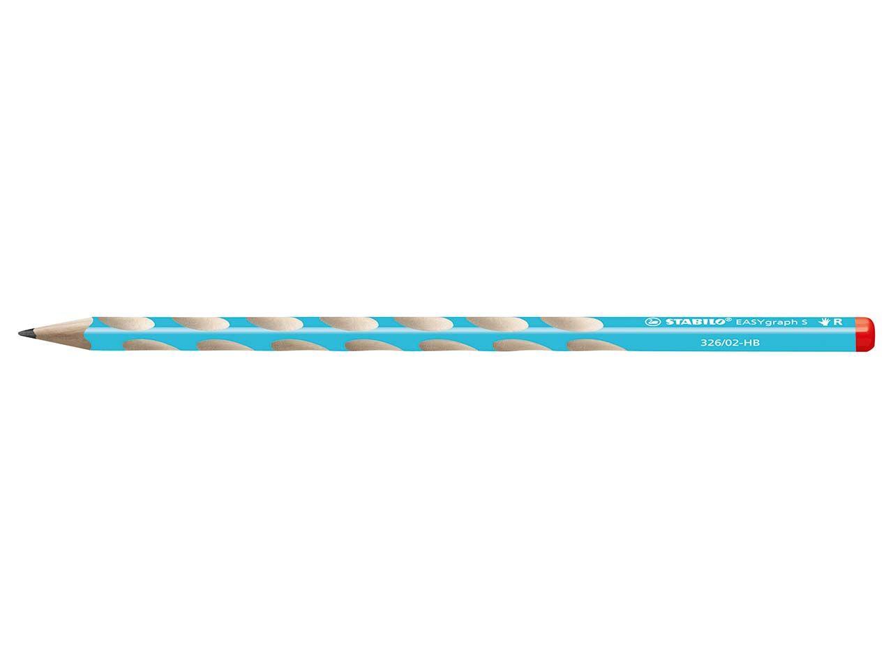 STABILO Bleistift 'EASYgraph S' blau 326/02-HB