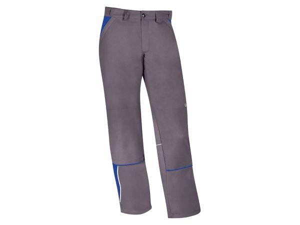 Unisex-Arbeitshose grau/blau, Gr. 58