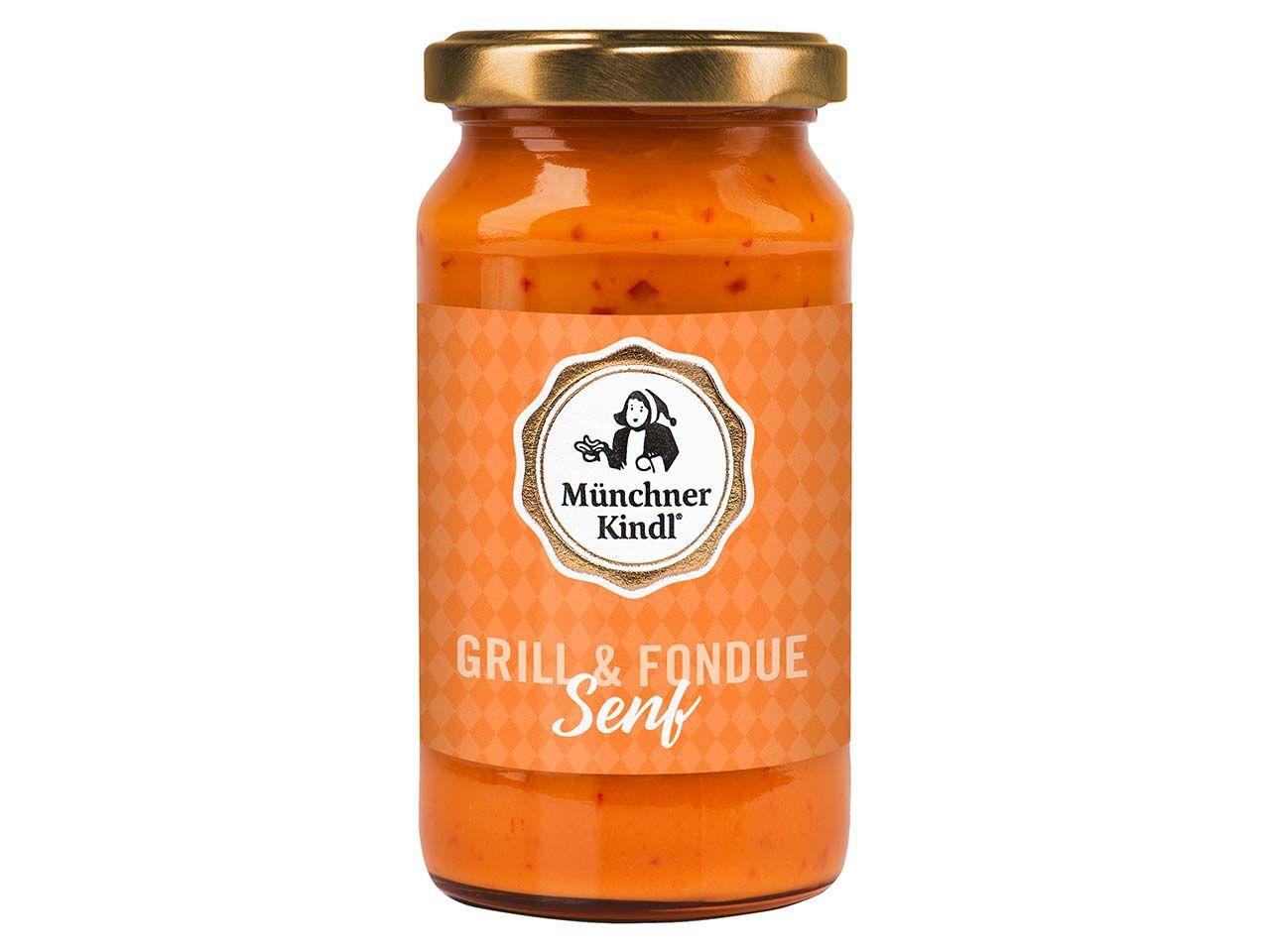 Münchner Kindl Bio Grill & Fondue Senf 200 ml 300084
