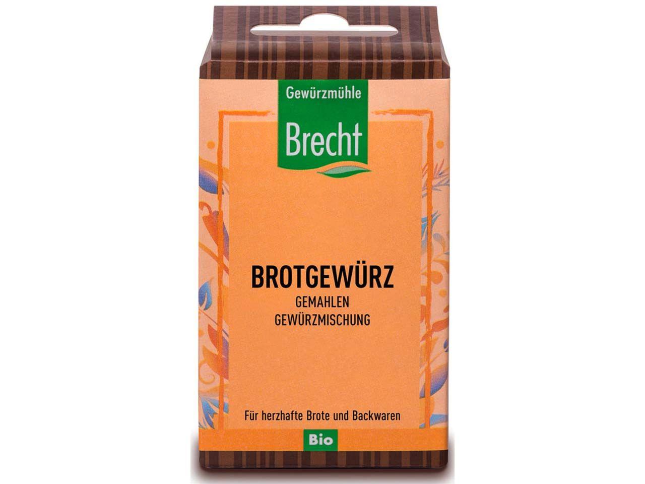 Brecht Bio-Brotgewürz gemahlen 30 g 126002001