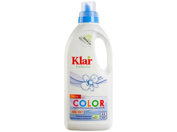 "Klar Basis Sensitive Color-Waschmittel ""EcoSensitive"" flüssig 1 l"