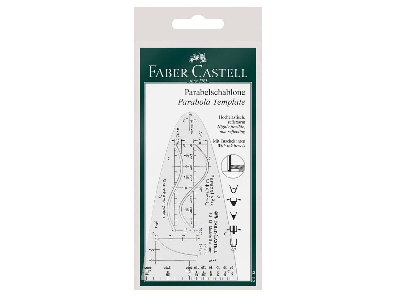 Faber-Castell Parabelschablone 172182