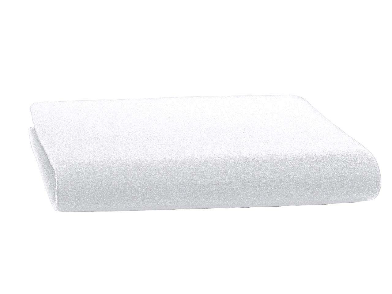 Bettlaken für Wasserbetten aus Bio Baumwolle 180x220 cm, weiß bLJE550/3000